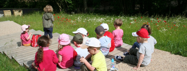 Take part in a natur children's party